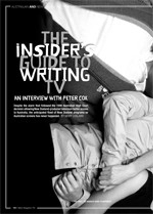 The Insider's Guide to Writing TV: An Interview with Peter Cox