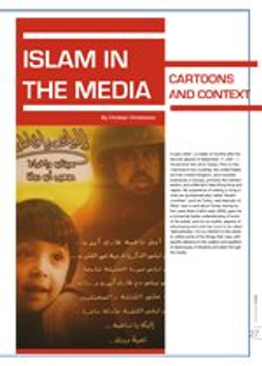 Islam in the Media: Cartoons and Context