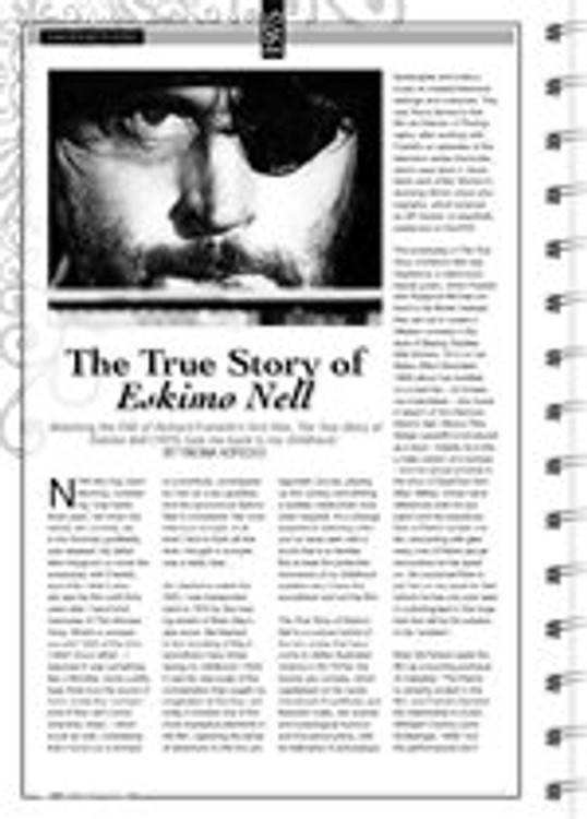 <i>The True Story of Eskimo Nell</i>