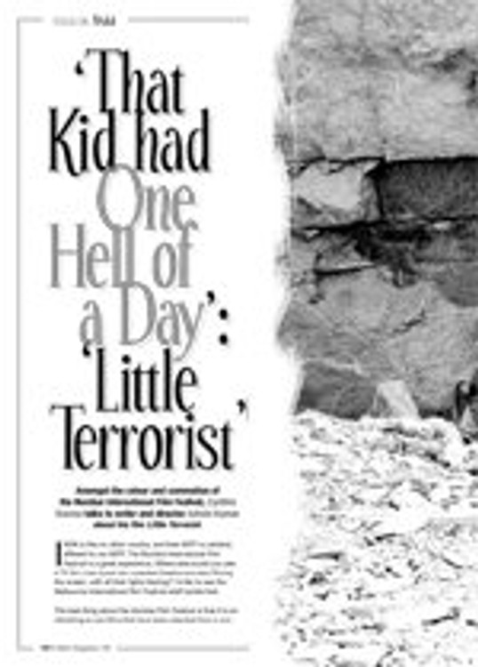 That Kid Had One Hell of a Day: <i>Little Terrorist</i>