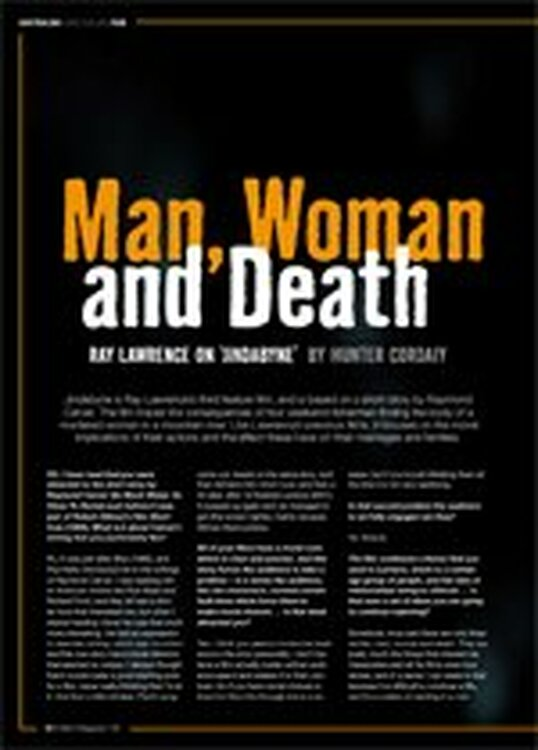 Man, Woman and Death