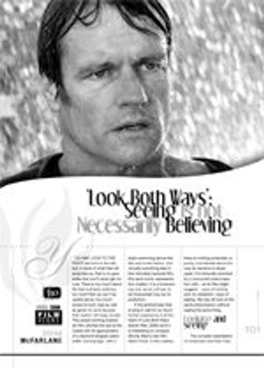Look Both Ways: Seeing is Not Necessarily Believing