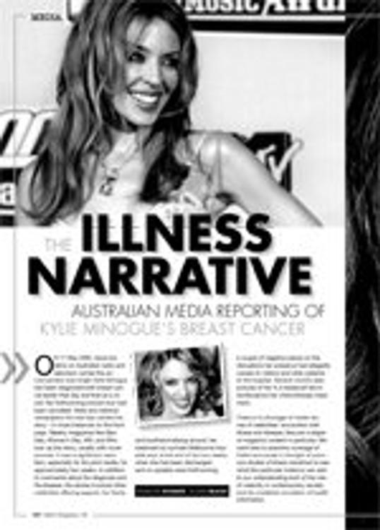 The Illness Narrative