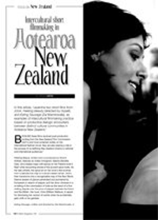 Intercultural Short Filmmaking in Aoteroa New Zealand