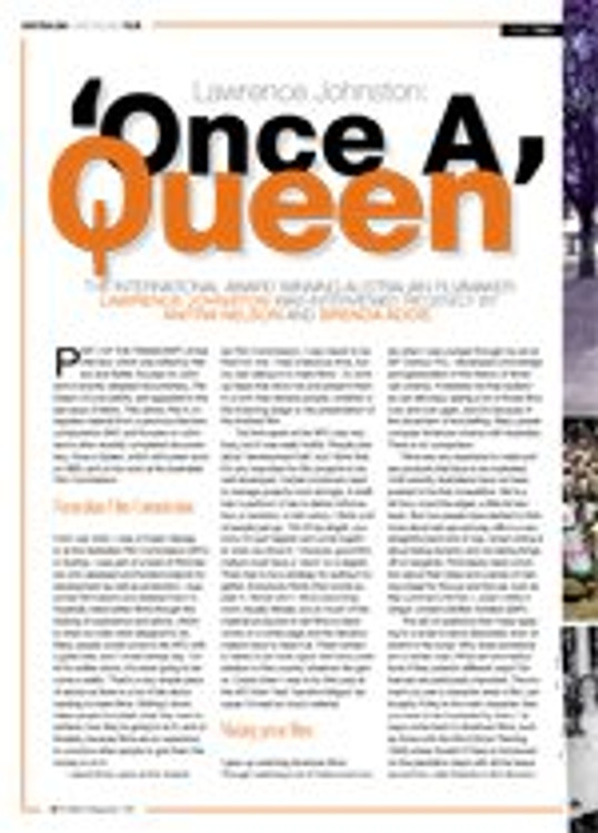 Lawrence Johnston: Once a Queen