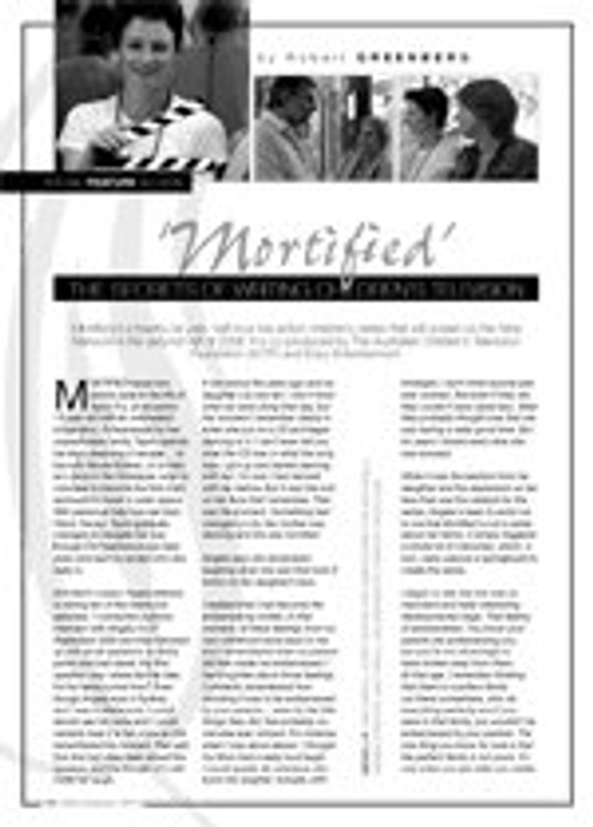 Mortified: The Secrets of Writing Children's Television