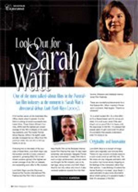Look Out for Sarah Watt