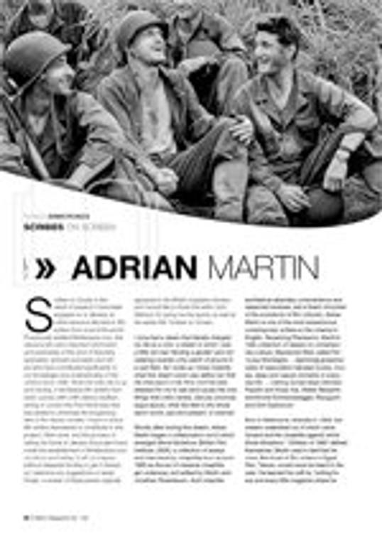 Scribes on Screen: Adrian Martin