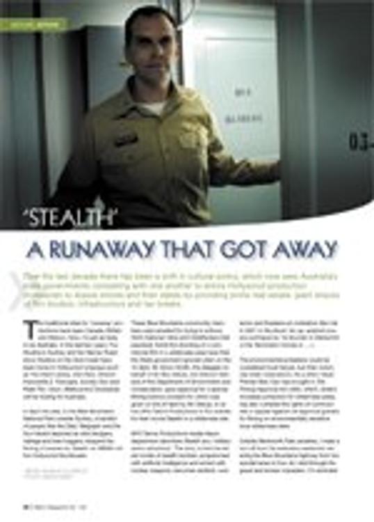Stealth: A Runaway That Got Away