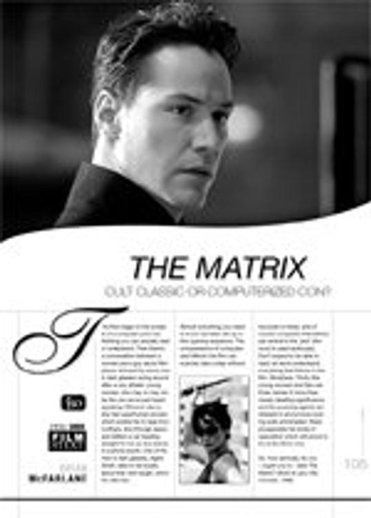 The Matrix: Cult Classic or Computerized Con?
