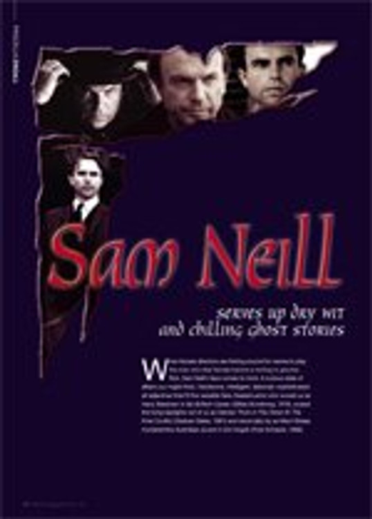 Sam Neill serves up dry wit and chilling ghost stories