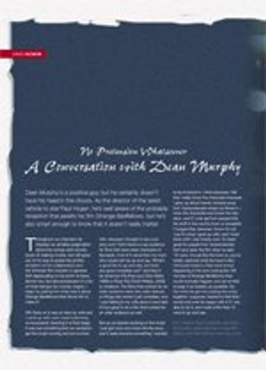 No Pretension Whatsoever: A Conversation With Dean Murphy