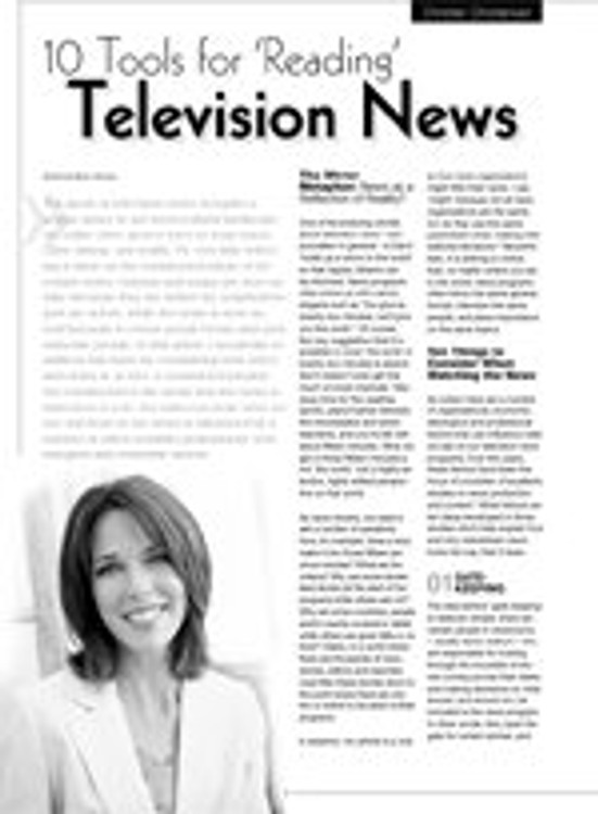 10 Tools for 'Reading' Television News