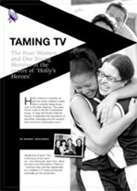 Taming TV: The Four Women and One Young Heroine at the Centre of 'Holly's Heroes'