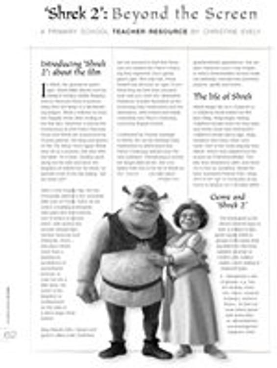 Shrek 2: Beyond the Screen