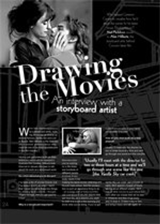 Drawing the Movies: An Interview with a Storyboard Artist