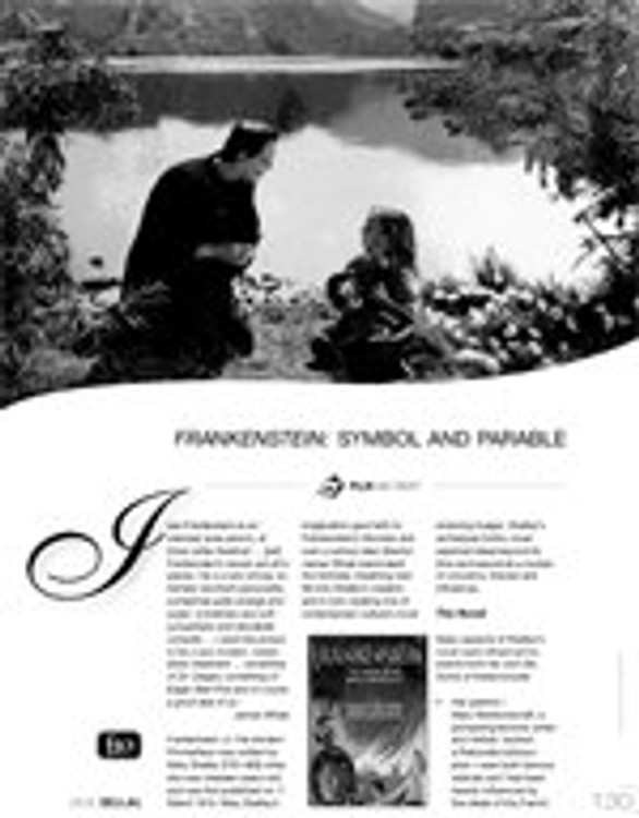 Frankenstein: Symbol and Parable