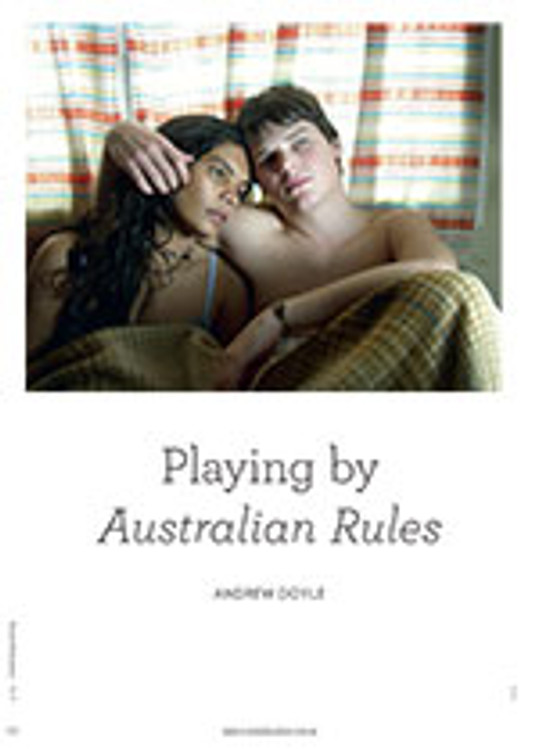 Playing by <em>Australian Rules</em>