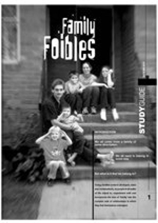 Family Foibles