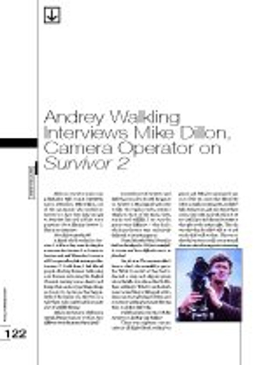 Andrey Walkling Interviews Mike Dillon, Camera Operator on