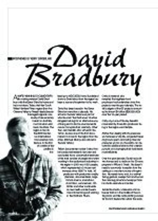David Bradbury interviewed by Kerry Sunderland
