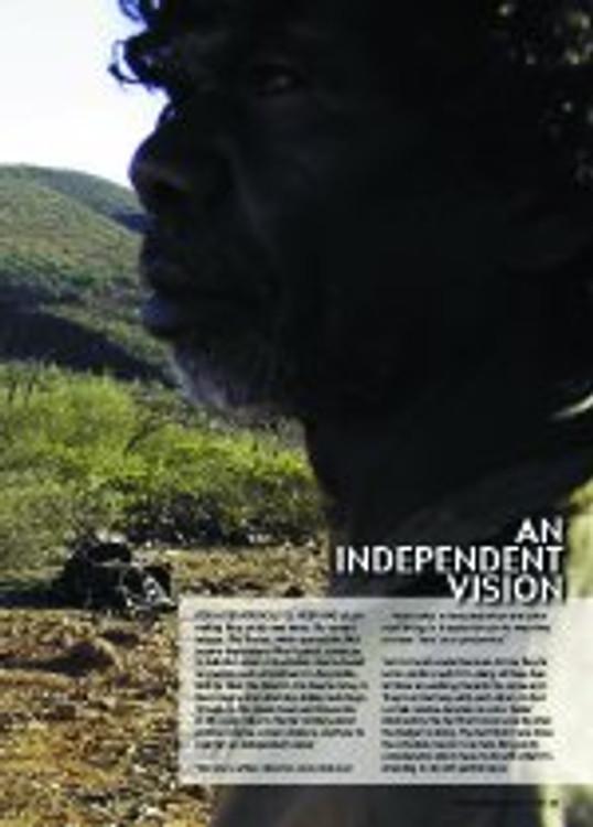 An Independent Vision: Rolf de Heer