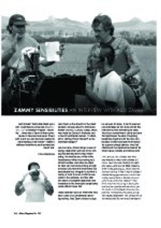 Zammy Sensibilities: An Interview With Alex Zamm