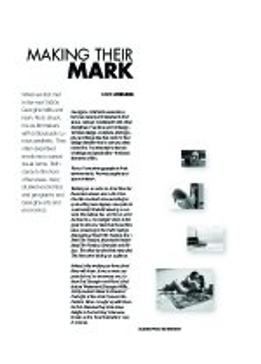 Making Their Mark: A Conversation with Kerry Rock and Georgina Willis