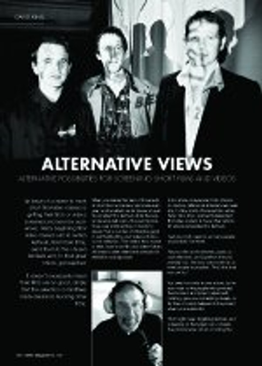 Alternative Views: Alternative Possibilities for Screening Short Films and Videos
