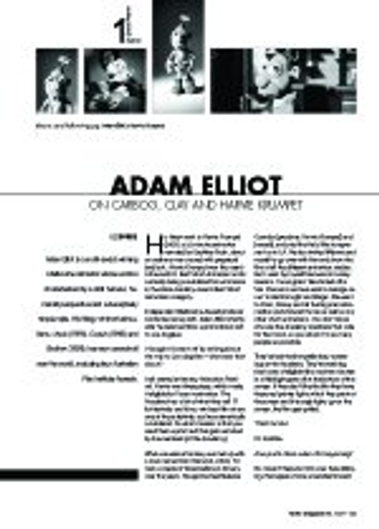 Adam Elliot on Carbog, Clay and