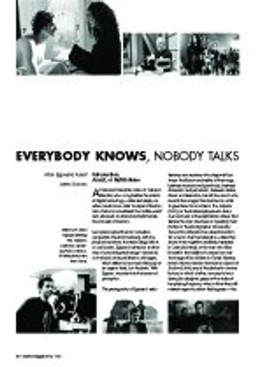 Everybody Knows, Nobody Talks: Atom Egoyan