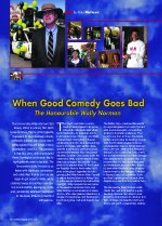 When Good Comedy Goes Bad: