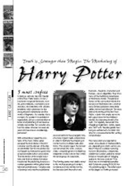 Truth is Stranger Than Magic: The Marketing of Harry Potter