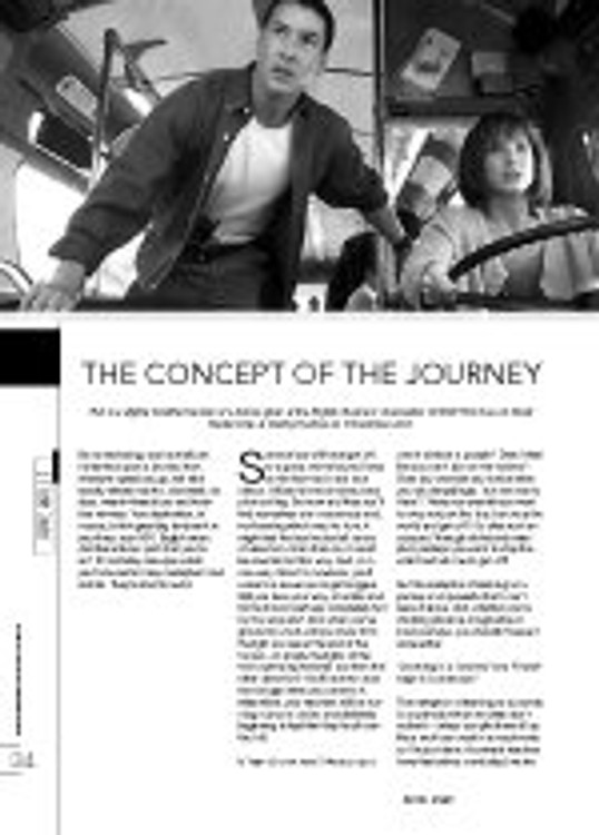 The Concept of the Journey