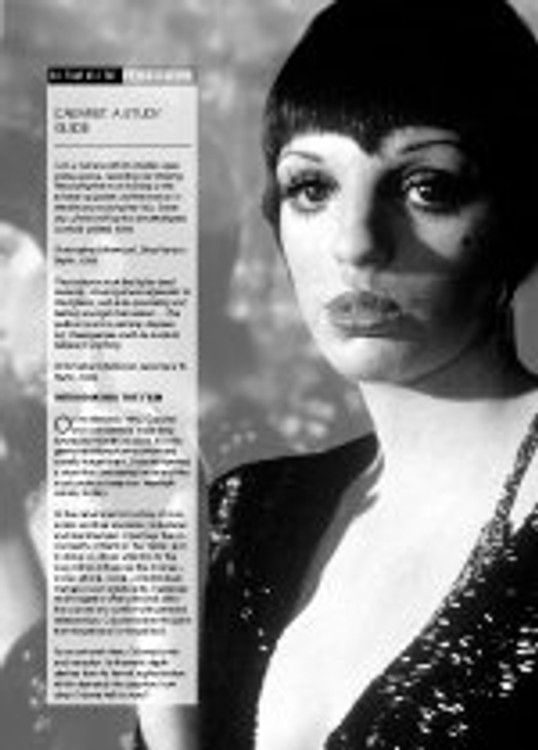 Cabaret (A Study Guide) - Film as Text
