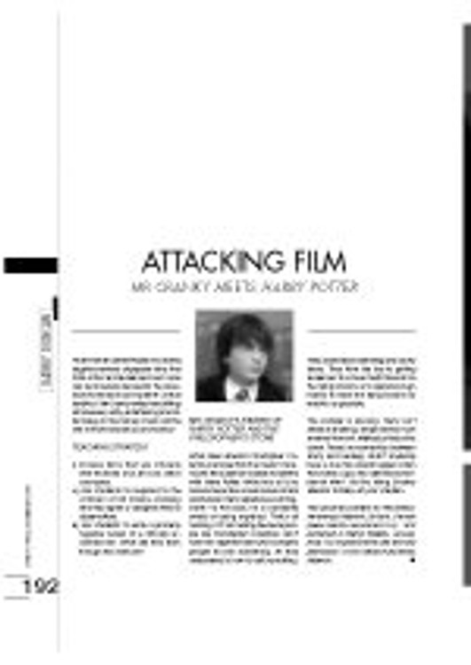 Attacking Film - Mr Cranky Meets Harry Potter