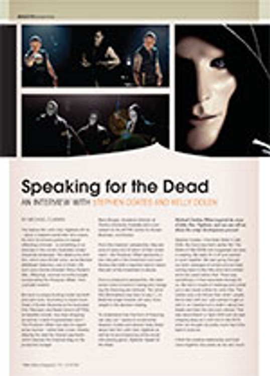 Speaking for the Dead: An Interview with Stephen Coates and Kelly Dolen