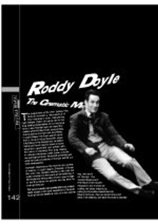 Roddy Doyle - The Cinematic Man