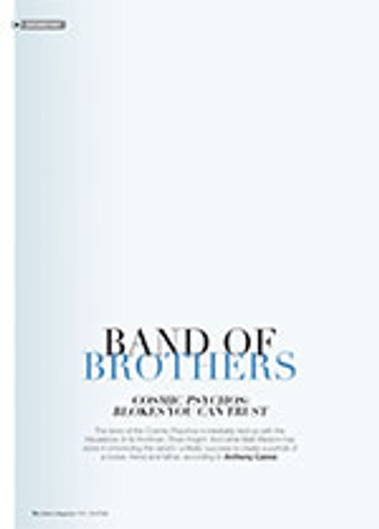 Band of Brothers: <em>Cosmic Psychos: Blokes You Can Trust</em>