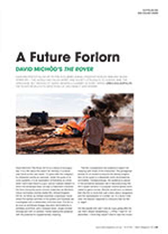 A Future Forlorn: David Mich?'s <em>The Rover</em>
