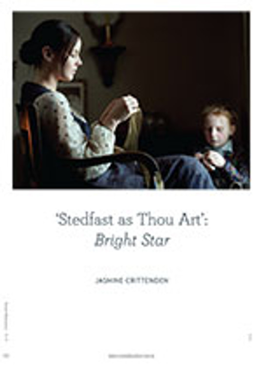 Stedfast as Thou Art': <em>Bright Star</em>