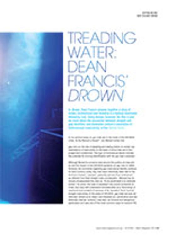 Treading Water: Dean Francis' <em>Drown</em>