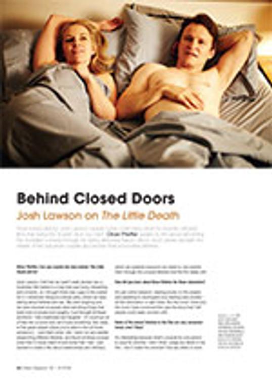 Behind Closed Doors: Josh Lawson on <em>The Little Death</em>