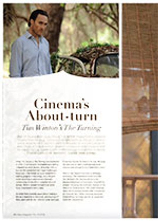 Cinema's About-turn: <em>Tim Winton's The Turning</em>