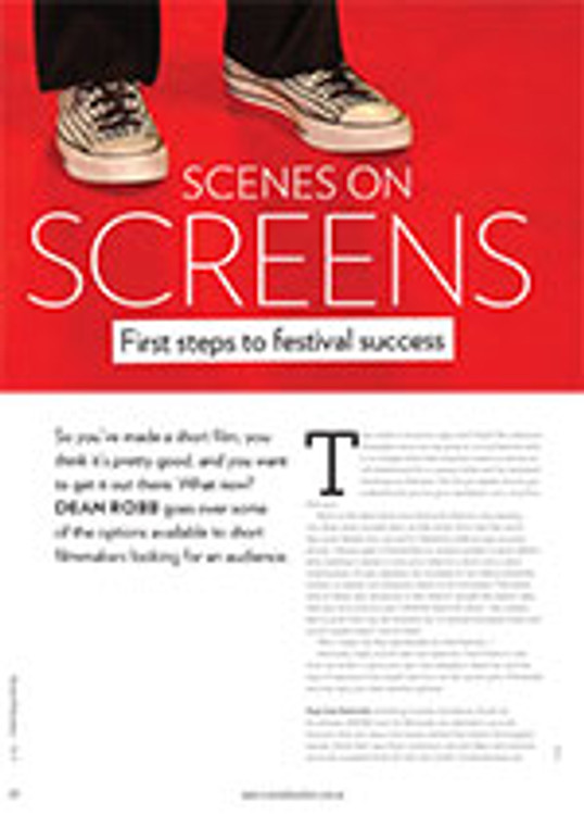 Scenes on Screens: First Steps to Festival Success