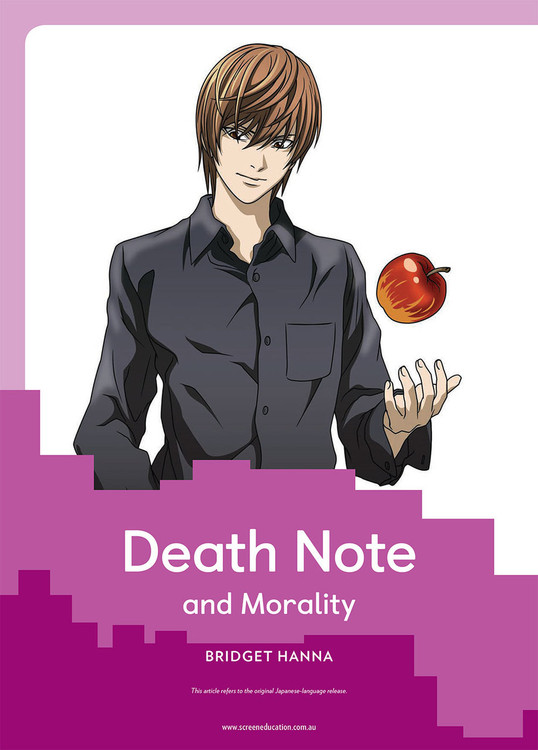Death Note and Morality