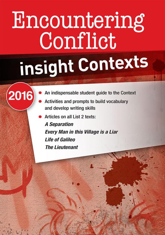Insight Contexts: Encountering Conflict