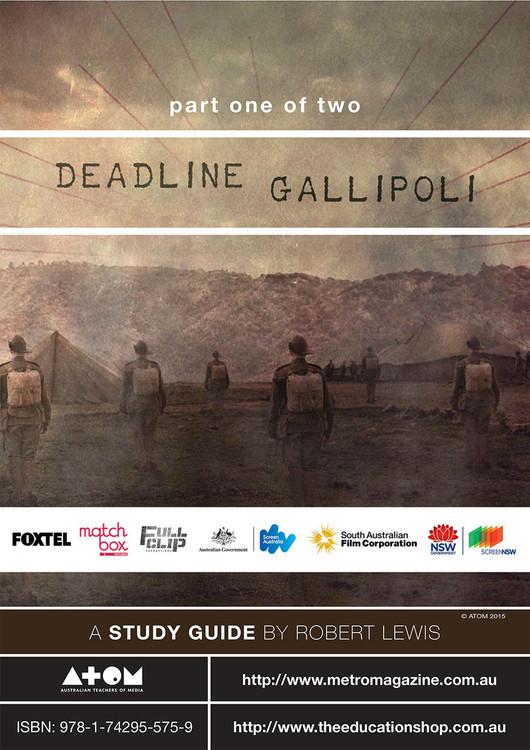 Deadline Gallipoli - Part 1 (ATOM Study Guide)