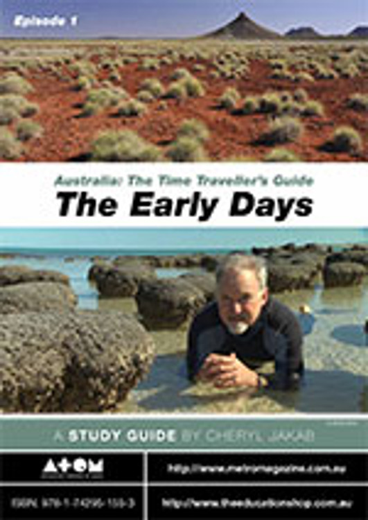 Australia: The Time Traveller's Guide - Episode 1 Worksheets