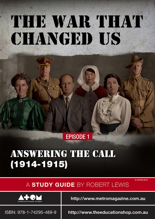War That Changed Us, The - Episode 1 (ATOM Study Guide)